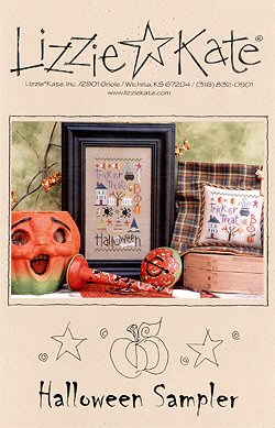 #106 Halloween Sampler from Lizzie Kate