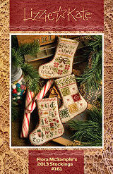 #161 Flora McSample's 2013 Christmas Stockings