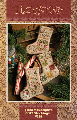 #161 Flora McSample's 2013 Christmas Stockings -- Click to see our finished model