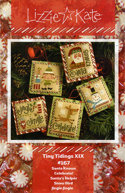 #167 Tiny Tidings XIX from Lizzie Kate
