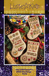 #173 Flora McSample's 2015 Christmas Stockings
