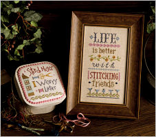 B52 Life is Better with Stitching Friends Inspiration Boxer