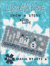F156 Warm Hearts Snow Story Flip-it