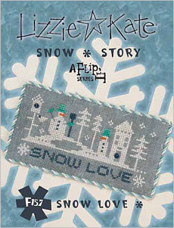 F157 Snow Love Snow Story Flip-its