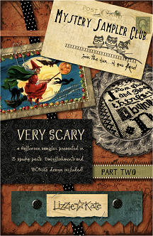 Part 2 of the Very Scary Mystery Sampler - click for more