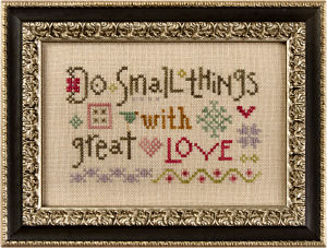 S119 Do Small Things with Great Love Flora McSample Snippet