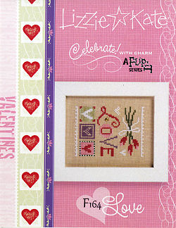 F164 Love Celebrate with Charm Flip-its