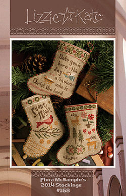 #168 Flora McSample's 2014 Stockings -- Click to see our finished model