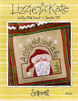 S111 Jolly Old Soul - Santa '13