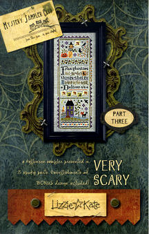 Part 3 of the Very Scary Mystery Sampler - click for more