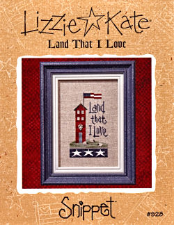 Land That I Love -- counted cross stitch from Lizzie Kate