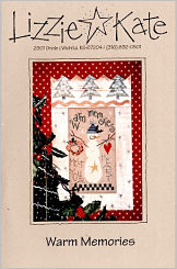 Warm Memories -- counted cross stitch from Lizzie Kate
