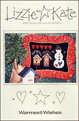 Warmest Wishes -- counted cross stitch from Lizzie Kate