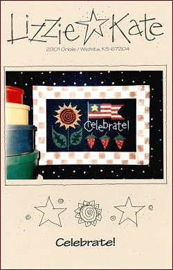 Celebrate -- counted cross stitch from Lizzie Kate