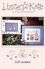 Cat Lovers -- counted cross stitch from Lizzie Kate