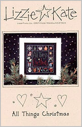 All Things Christmas -- counted cross stitch from Lizzie Kate
