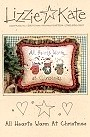 All Hearts Warm at Christmas -- counted cross stitch from Lizzie Kate