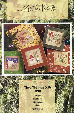 #140 Tiny Tidings XIV from Lizzie Kate