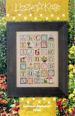 #148 Summer Alphabet -- Click to see our finished model