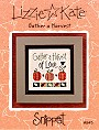 Gather a Harvest of Love -- counted cross stitch from Lizzie Kate