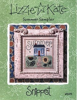Summer Sampler -- counted cross stitch from Lizzie Kate