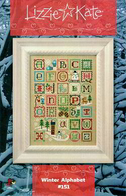 #151 Winter Alphabet -- Click to see our finished model