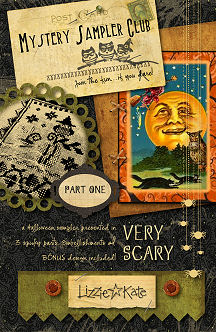 Part 1 of the Very Scary Mystery Sampler - click for more