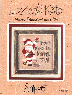 S49 Merry Friends – Santa '03 Snippet