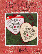 S61 1st Christmas -- counted cross stitch from Lizzie Kate